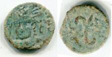(18338)Ustrushana portrait coin RRare!