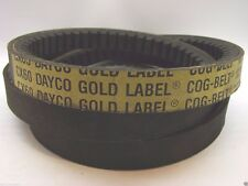 "Dayco CX60 Gold Label Cogged Industrial V Belt .92"" X 64.15""  b115"