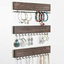 Rustic Jewelry Organizers,Necklace Holder,Wall Mounted Storage Rack,Displayer