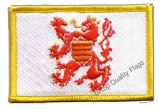 Belgium Flanders Flag EMBROIDERED PATCH 8x6cm Badge