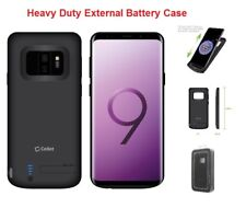 Galaxy S9+ Plus For External Battery Power 6000mAh Rechargeable Cover Case