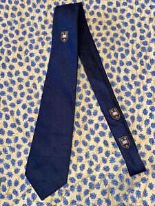 Original New Oxford club tie Castells Of Oxford Polyester Black