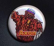 AXON - DOCTOR WHO SUGAR SMACKS 'TRIBUTE' 25mm small badge button pin