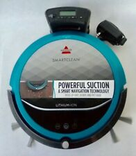 Bissell SmartClean Vacuum Cleaner Robot Multi Surface Bagless Teal Mod 1974 Mint