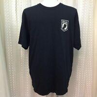 Patriotic US Veteran POW-MIA Eagle Biker T Shirt Men's Size 2XL
