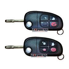 Jaguar X S Type XF XJ XK E XJ6 XJ8 4 Button Remote Flip Key Fob Repair Service