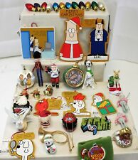 Christmas Ornament Lot of 39 Ornaments Dilbert Dogs Nascar Kittens and many more