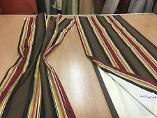B/N pair of lovely curtains House / Caravan  44W x 55 L lined, quality fabric