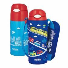 THERMOS Straw Bottle FHL-401F-BL 0.4L