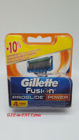 Gillette Fusion ProGlide Power Rasierklingen 4 Stück Original OVP