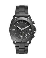 Fossil BQ2168 Herrenuhr neu Armbanduhr Edelstahl schwarz UVP 169 Euro