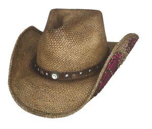 Bullhide Western Inspiration Straw Western Cowboy Hat 2830NP