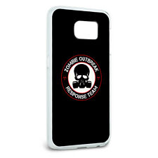 Zombie Outbreak Response Team Gasmask Skull Red Case for Samsung Galaxy S6