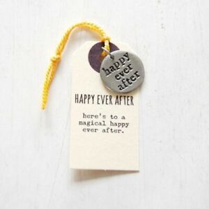 Kutuu Pewter Charm - Happy Ever After