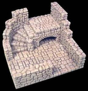 Roleplay Scenery D&D Heroquest 25mm - Short  Stair Room