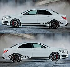 SPK401 mercy racing stripes CLA sticker kit performance C117 X117 4matic shoot