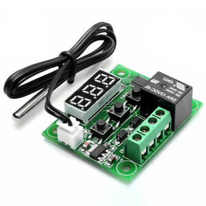 -50-110°C W1209 12V Digital Thermostat Sensor Temperature Control Switch Module