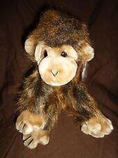 "Ty 12"" CHA CHA Monkey Coarse Haired  Plush Soft Toy Stuffed Animal"