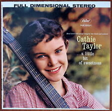 LP Cathie Taylor >A little bit of Sweetness<, USA Pressung