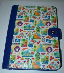Disney Park Icons Electronic Reader Case 8.25 x 5.5 Leota Tiki Space Mtn