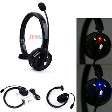 Bluetooth Noise-Canceling Trucker Foldable Headset w / Mic For PS3 game console
