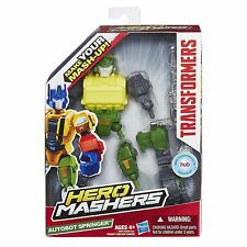 Transformers Hero Mashers Autobot Springer Robot Ages 4+ Hasbro New Toy Boys Fun