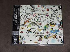 Led Zeppelin III Japan Mini LP Dbl CD