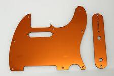 Tele Telecaster Orange Mirror pickguard set Fender