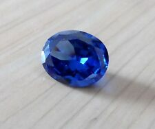 4.53ct AAA Natural Blue Zircon Gems Oval Faceted Cut 10x8mm VVS Loose Gemstones