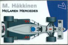 Aimant magnet Prost 1999 Formule 1 Formula 1 F1 Mika Häkkinen McLaren Mercedes