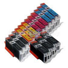 15+ PK PGI-250 CLI-251 Ink Tank for Canon Printer Pixma MX722 MX922 MG5420 3x5PK
