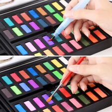 36 Colors Solid Watercolor Artist Paint Set Painting Box with Pens Paper And Bag