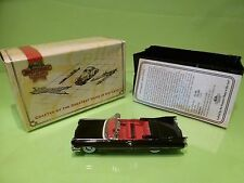 DINKY TOYS MATCHBOX DYG05-M  CADILLAC COUPE DEVILLE 1959  - BLACK 1:43 - NMIB