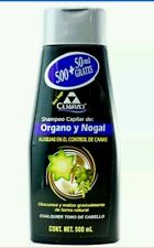 Shampoo Tonificador de Color Negro Organo y Nogal 2 bottles for $26