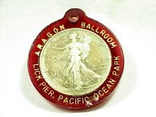 Souvenir ARAGON BALLROOM - Pacific Ocean Park, SANTA MONICA, CA. 1942