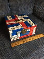 Vtg Retro Ballonoff Portafile 1970s Metal Tax Receipt File Box Portable Cash