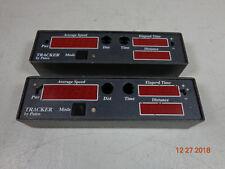 Kustom Signals Patco Radar Tracker Dash Mounted Control Head Lot 2 C14