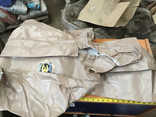 KAPPLER Disposable Tychem CPF 2 Gray size Medium Chemical Suit Coveralls