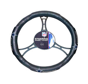 NEW Football Dallas Cowboys Steering Wheel Cover Universal Fit 14.5''-15.5''