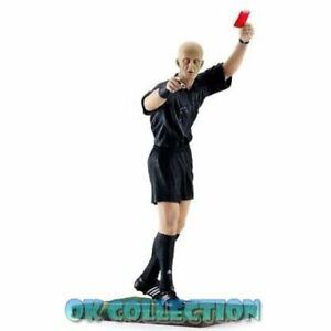 """**Soccer Plastic Figure REFEREE PIERLUIGI COLLINA (h. 6"""") - by Fanatico (sealed)"""