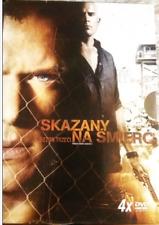 Skazany na Śmierć Prison Break SEZON 3 4xDVD