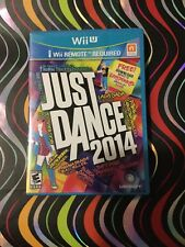Just Dance 2014 by Ubisoft (Nintendo Wii U,2014) -- Used/Excellent Condition