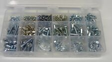 METRIC PHILLIPS PAN HEAD MACHINE SCREW & NUT ASSORTMENT M3mm 4mm 5mm 6mm