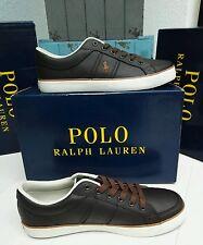 Polo Ralph Lauren Herrenschuhe Sneaker Turnschuhe Leder Gr 40