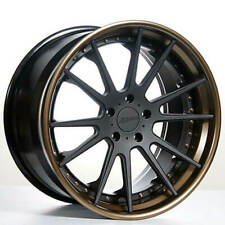 """4ea 22"""" Staggered AC Forged Wheels Rims ACR316 Concaved 3 pcs (S2)"""