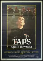 TAPS SQUILLI DI RIVOLTA Manifesto Film 2F Poster Originale Cinema HAROLD BEKER