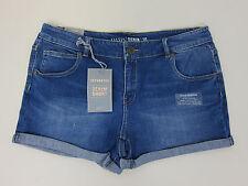 Oasis Denim Shorts - Womens US 12 - Mid Wash - NWT