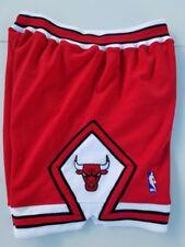 Authentic Mitchell & Ness Chicago Bulls Shorts Red XL 48 Jordan