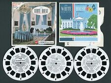 GAF View-Master Packet THE WHITE HOUSE WASHINGTON DC No. A793 style G1 Complete