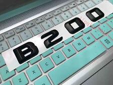 Black B200 Letters Trunk Emblem Badge Sticker for Mercedes Benz B Class AMG B200